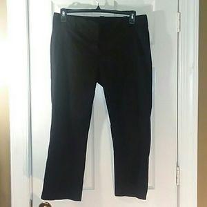 J. Crew Cityfit Crop pants Size 12 Stretch